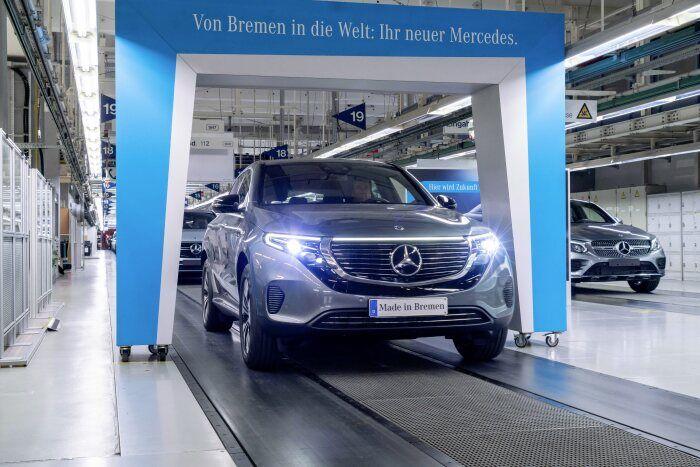 شرکت دایملر در مجارستان خودرو الکتریکی تولید میکند