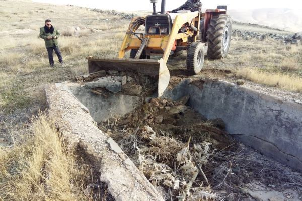 بازگرداندن حدود ۱۷.۵ هکتار از اراضی دولتی همدان به بیتالمال