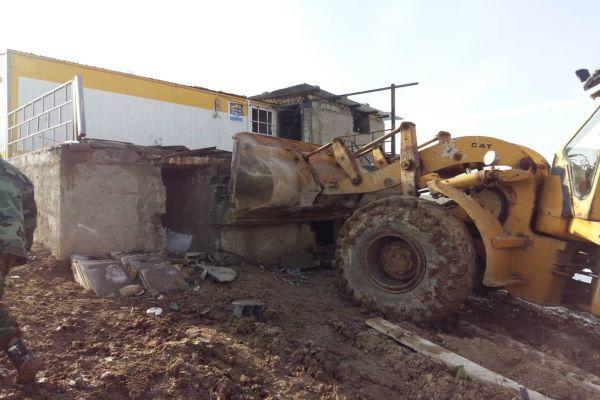 ۳ هزار و ۸۴۰ متر مربع از اراضی دولتی در استان همدان رفع تصرف شد