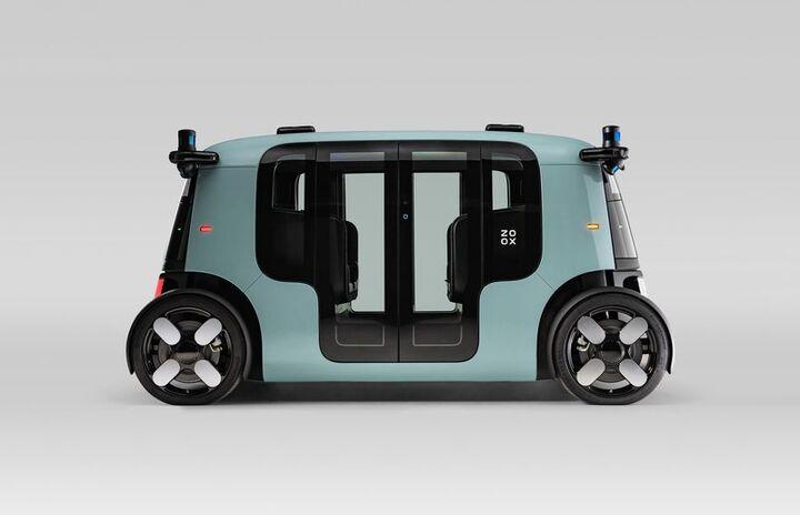 تاکسی های رباتیک خودران  آمازون رونمایی شد