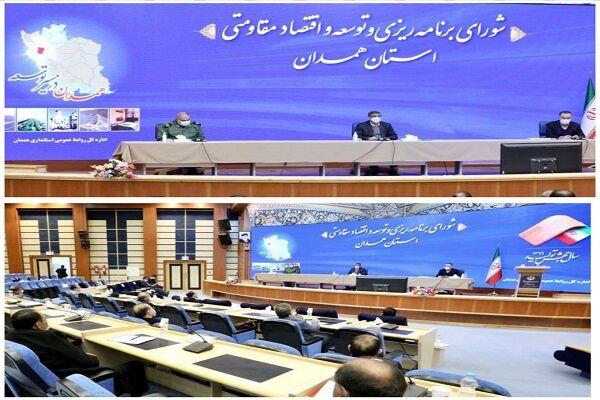 ۹۰ درصد برنامه های سند راهبردی و عملیاتی استان همدان اجرایی شده است
