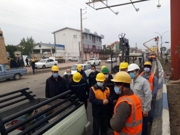ضعف ولتاژ برق در غرب مازندران رفع شد/ اجرای مانور تعمیرات