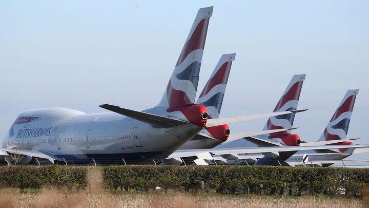 تعلیق پرواز هواپیمایی به انگلیس