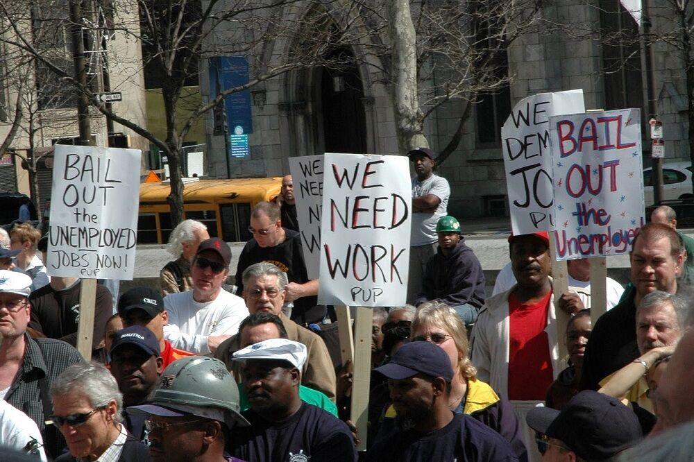 بیکاری ۸۰۰ هزار آمریکایی در مدت ۷ روز گذشته
