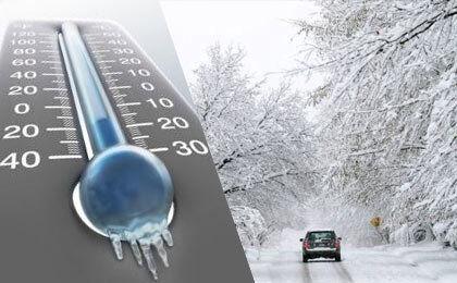 در شب یلدا، دمای ۲۰ استان به زیر صفر رسید