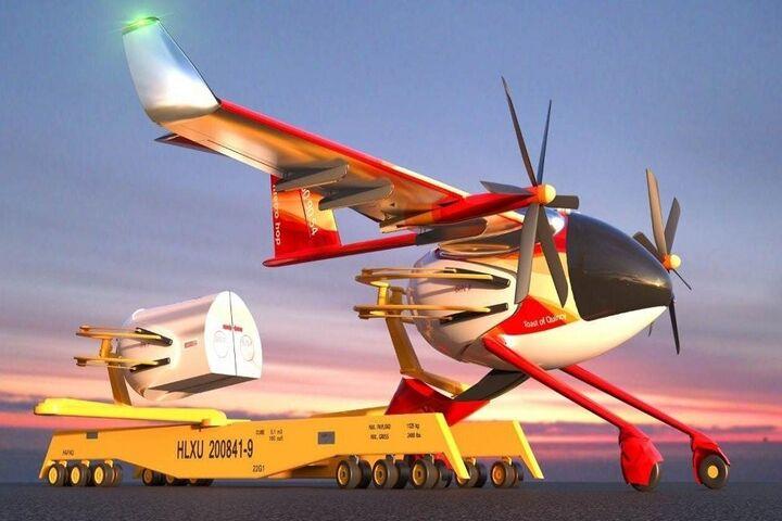 هواپیمای برقی 5