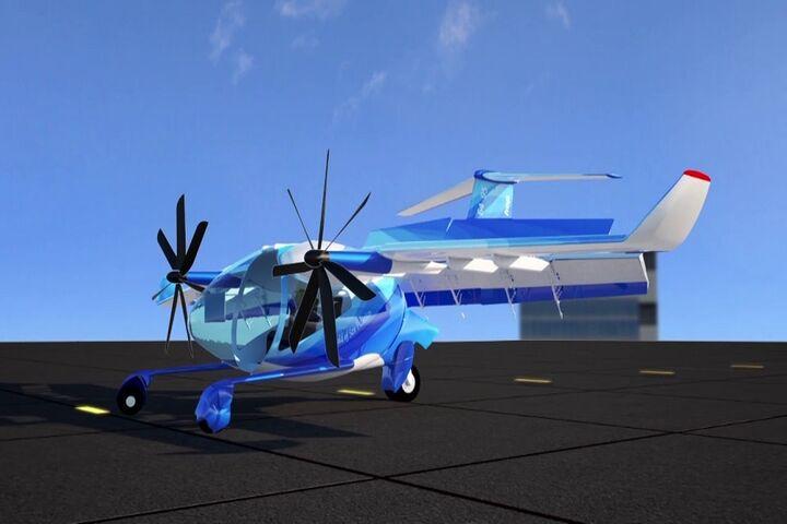 هواپیمای برقی 6