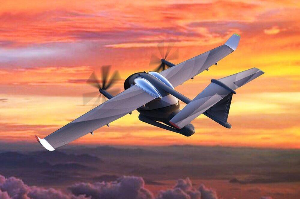 طراحی هواپیمای برقی با سرعت ۴۰۰ کیلومتر در ساعت
