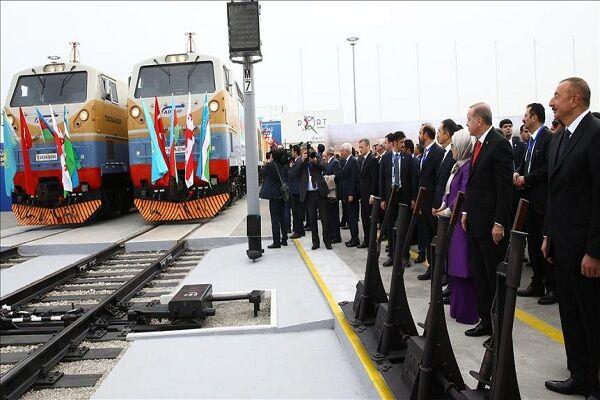 کریدور باکو - تفلیس - قارص؛ تحقق «راه ابریشم آهنی» از ترکیه به چین  چرا ایران در بازی نیست؟