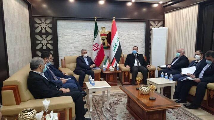 رایزنیهای وزیر نیرو در بغداد