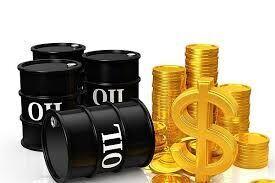 متوسط قیمت نفت خام و طلا در تابستان ۹۹