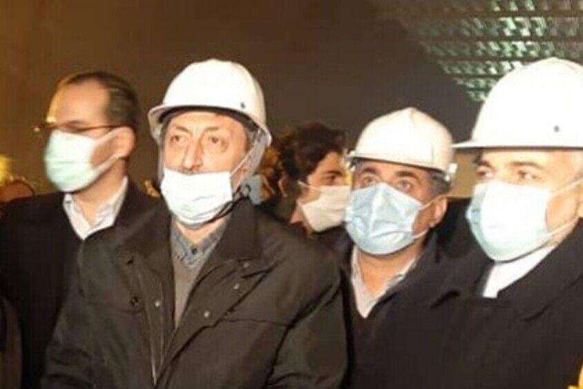 ساخت اولین تونل با سقف آهنی پیش ساخته در آزادراه تهران- شمال
