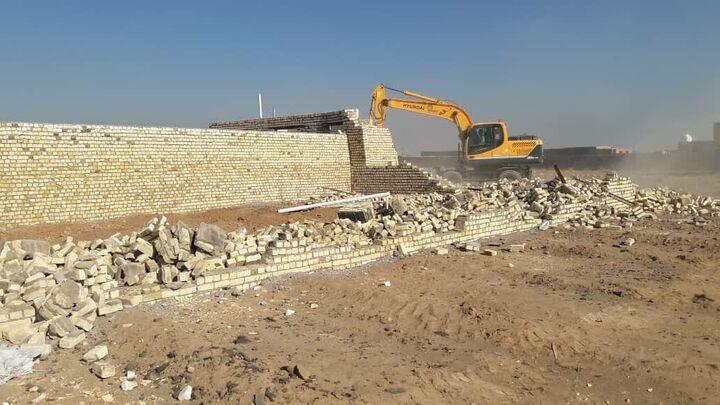 ۱۷ هکتار از اراضی ملی خلع ید شد