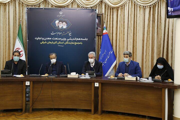 مذاکره با وزارت صمت برای تکمیل مگاپروژههای آذربایجان شرقی
