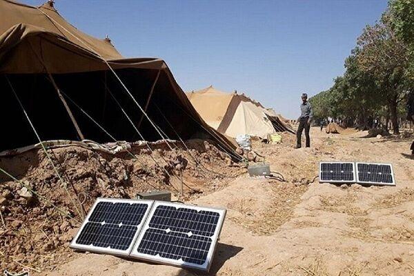 تحویل ۴۰۰ پنل خورشیدی به عشایر استان همدان در آینده ای نزدیک