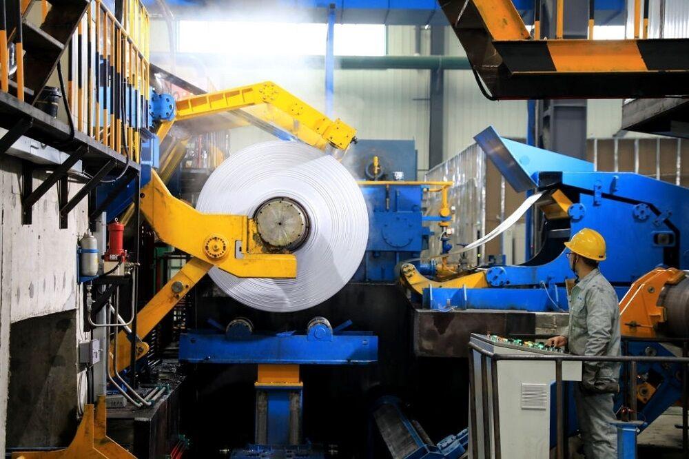 کارخانه تولید آلومینیوم در چین