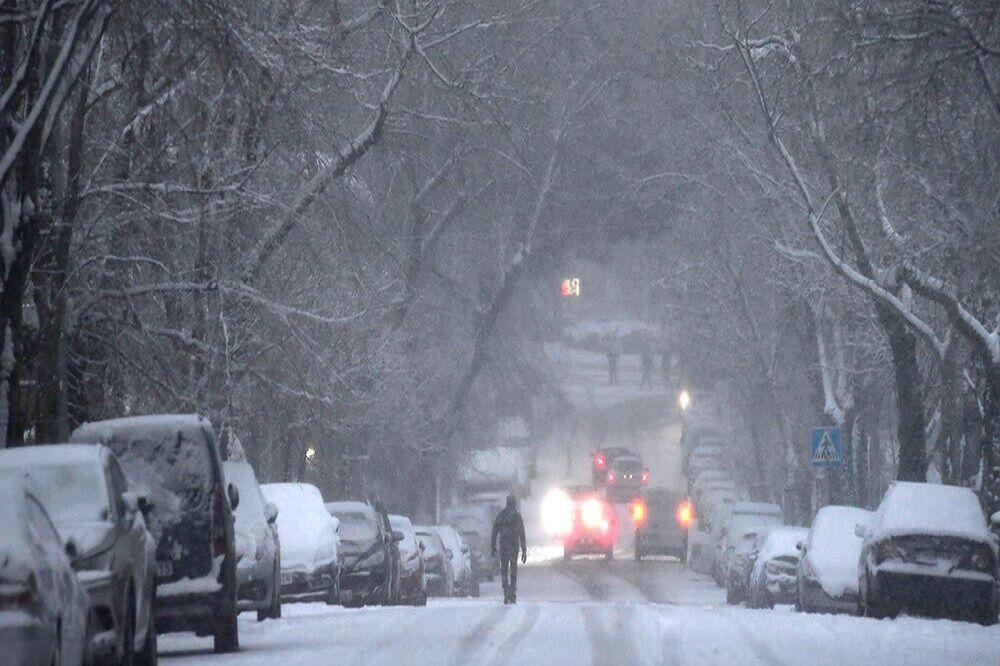 برف و سرمای کم سابقه در اسپانیا