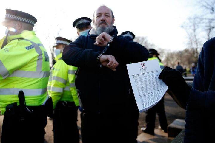 تظاهرات در انگلیس 2