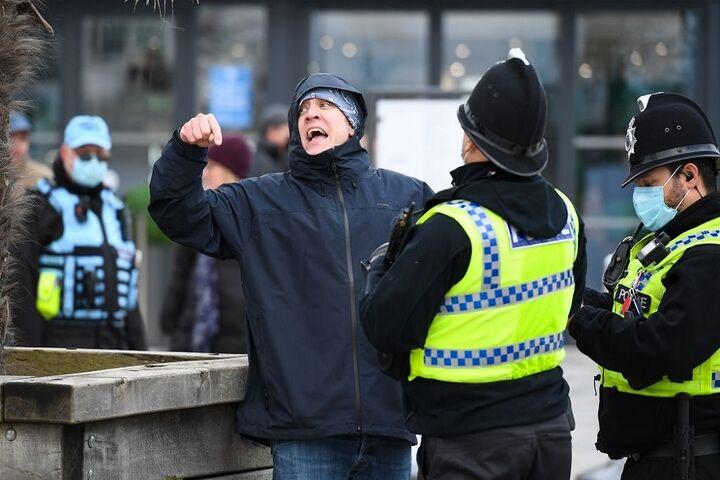 تظاهرات در انگلیس 3