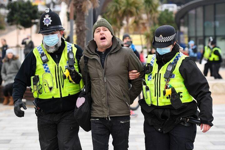 تظاهرات در انگلیس 4