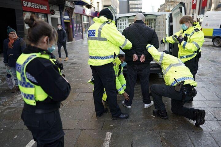 تظاهرات در انگلیس 5