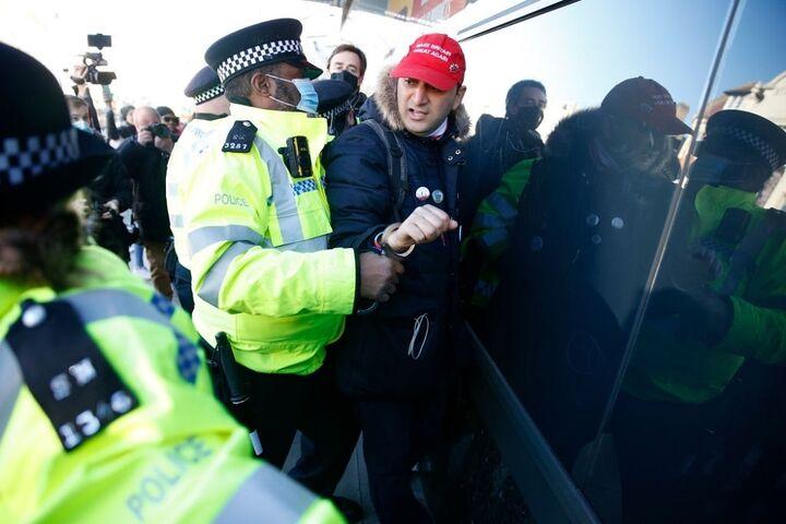 تظاهرات در انگلیس 6