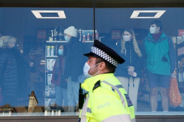 تظاهرات در انگلیس 10