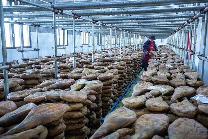 تولید ژامبون در چین 3