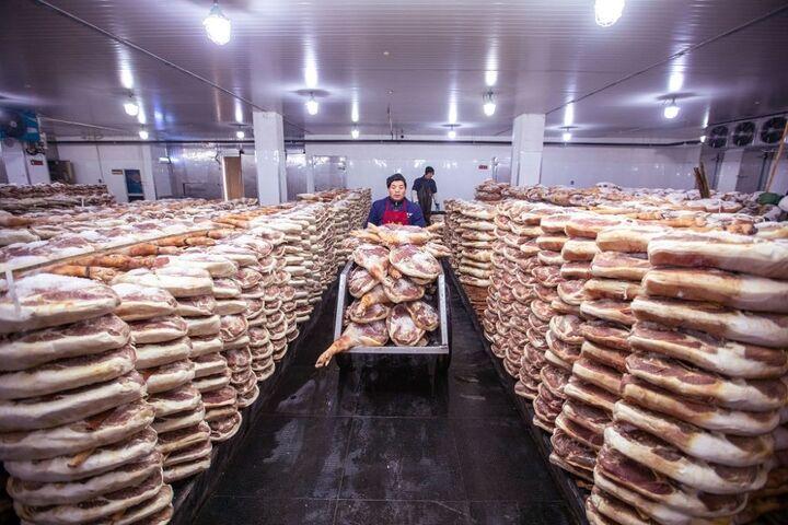 تولید ژامبون در چین 5