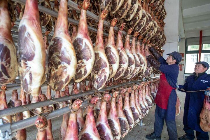 تولید ژامبون در چین 8