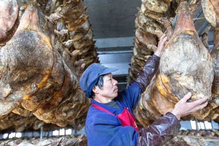 تولید ژامبون در چین 11