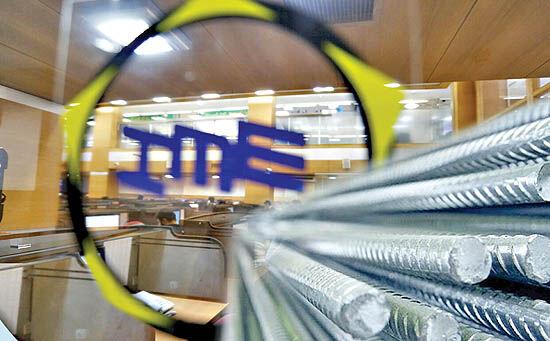 عرضه میلگرد صادراتی در بورس کالای ایران