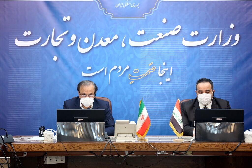 ترسیم نقشه راه برای رسیدن به ظرفیت ۲۰ میلیارد دلاری تجارت میان ایران و عراق