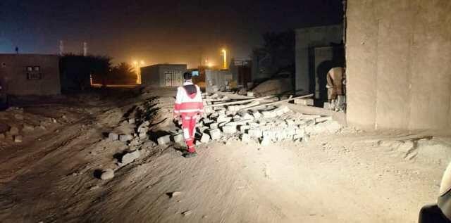 حضور دستگاههای خدمات رسان در روستاهای زلزله زده هرمزگان/ خسارت به ۸۰ واحد روستایی