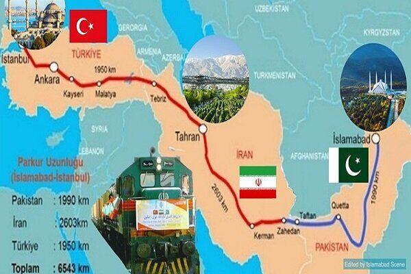 کریدور پاکستان، ایران و ترکیه؛ رونق ترانزیت ریلی و اقتصاد سیستان و بلوچستان