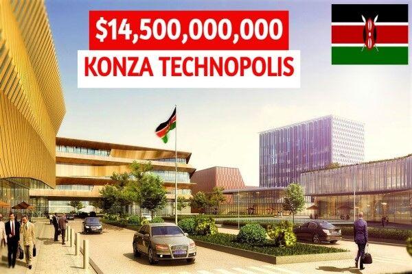 شهر هوشمند کنزا، یک اَبر پروژه سرمایه گذاری