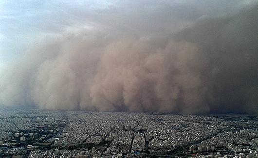 توفان خراسان رضوی را درنوردید؛جادههای استان لغزنده است