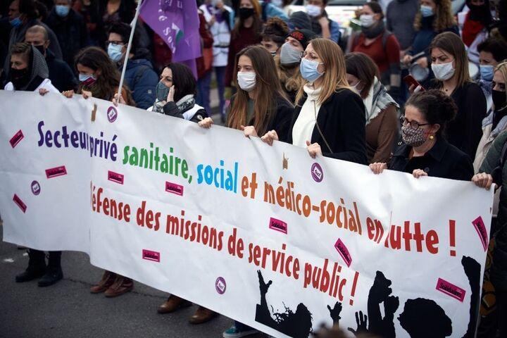 تجمع کارکنان شرکت برق فرانسه