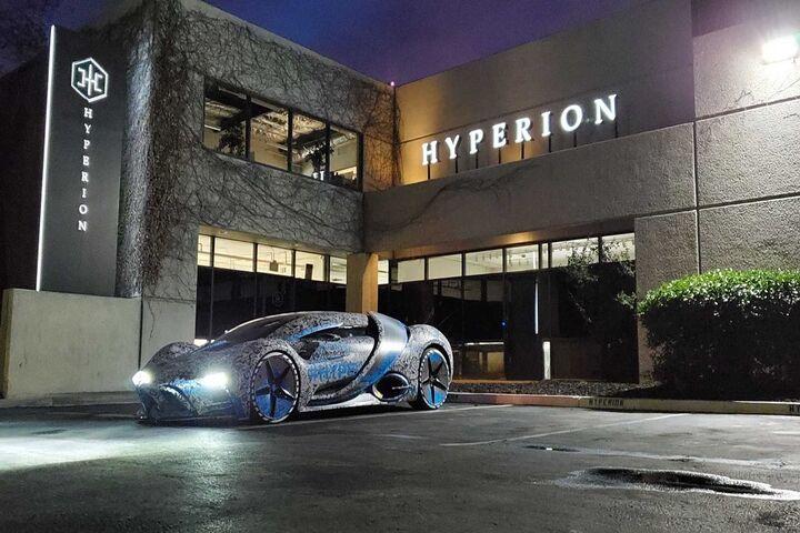 ابر خودرو هیدروژنی 3