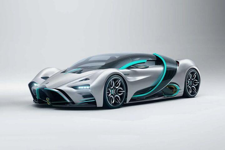 ابر خودرو هیدروژنی 5