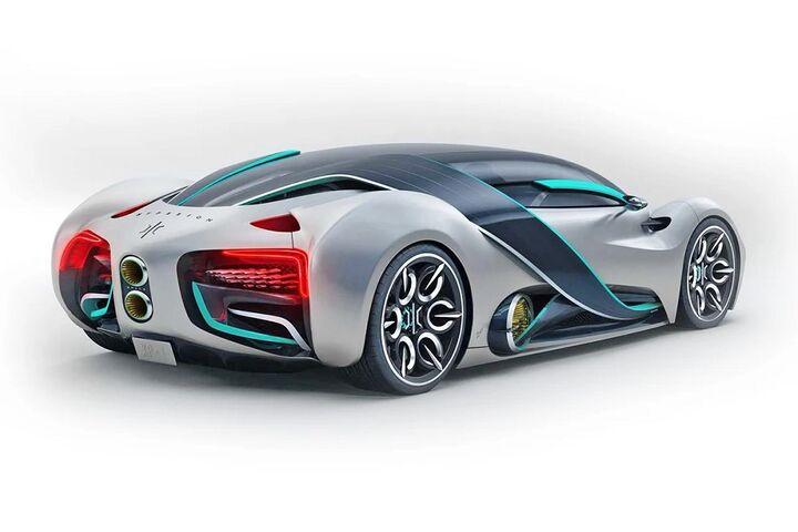 ابر خودرو هیدروژنی 6