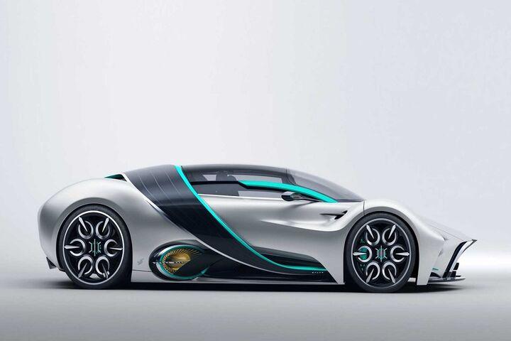 ابر خودرو هیدروژنی 7