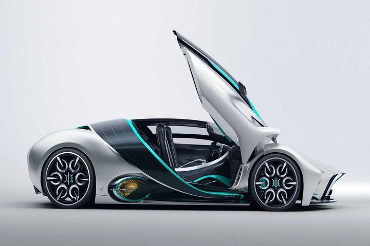 ابر خودرو هیدروژنی 8