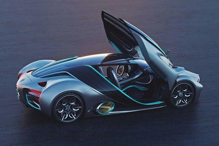 ابر خودرو هیدروژنی 13