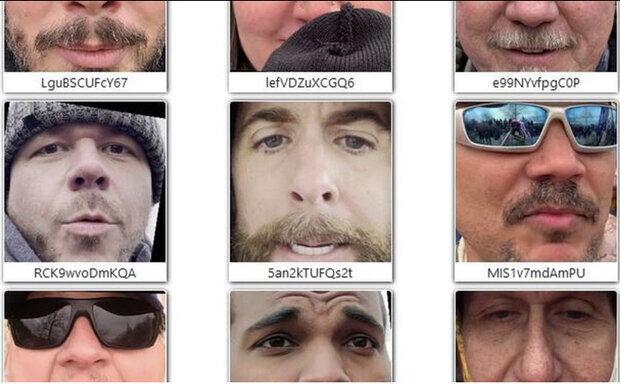 فاش شدن عکس ۶ هزار حمله کننده به کنگره آمریکا