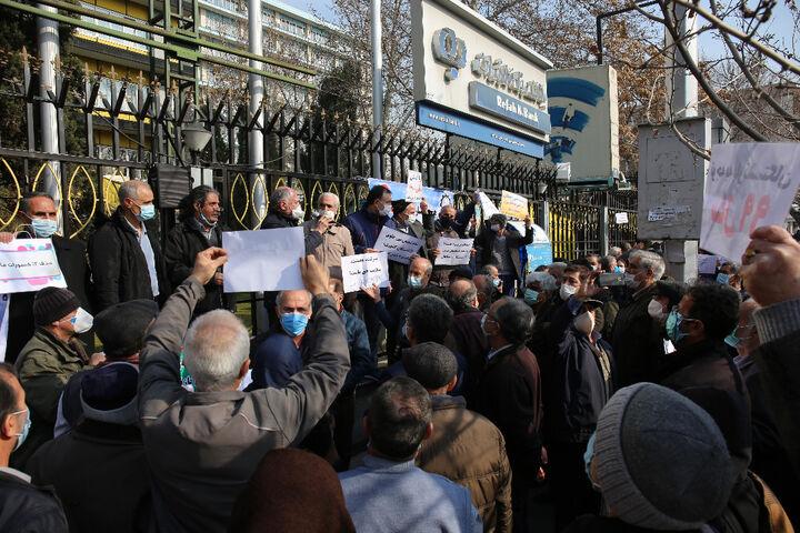 بیانیه پایانی تجمع بازنشستگان امروز سازمان تامین اجتماعی صادر شد