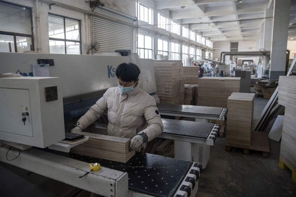 کاهش فعالیت کارخانهای در چین