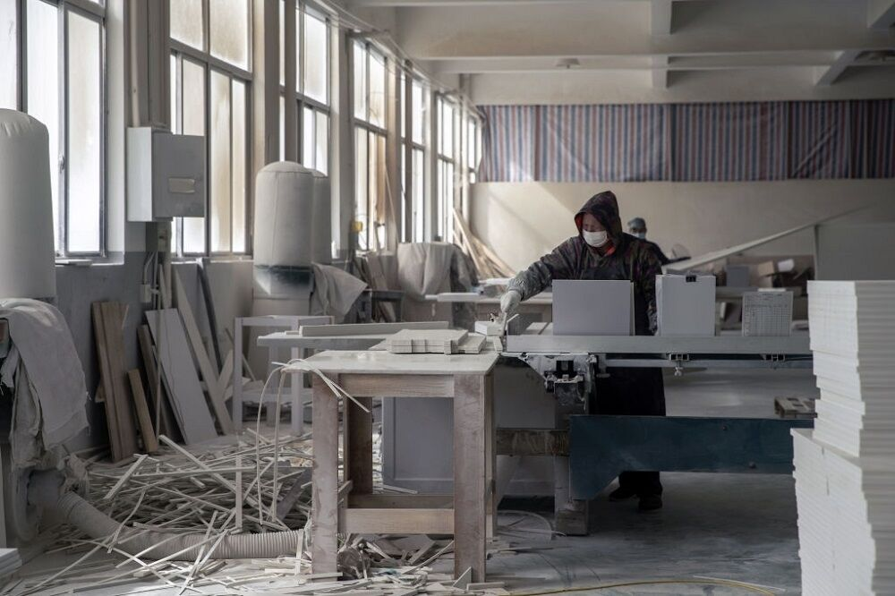 کارخانه کابینت سازی در چین