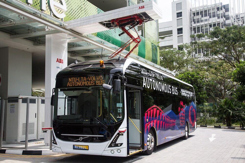 آغاز استفاده از اتوبوسهای خودران در سنگاپور