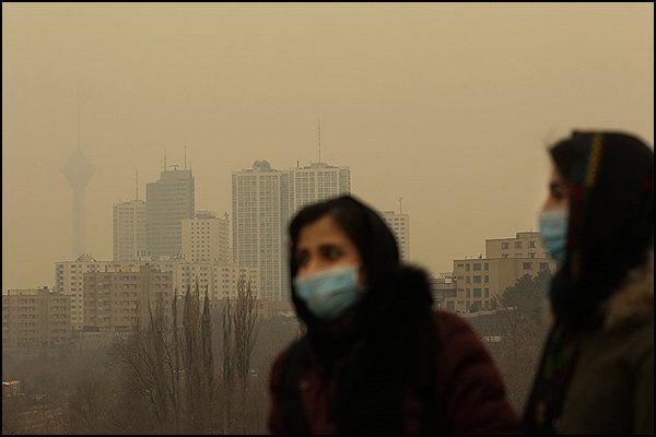 کاهش کیفیت هوا در شهرهای صنعتی و پرجمعیت